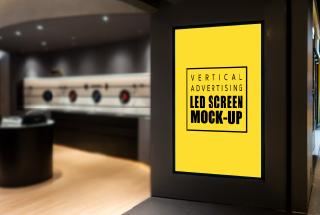 Painel de LED para loja: valorize o seu ponto de venda;